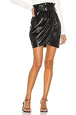 Ronny Kobo Angela Skirt in Black