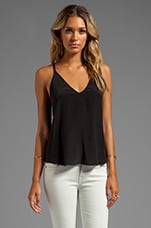 Double Strap Cami in Black