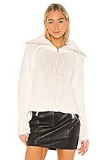 RtA Dom Sweater in White
