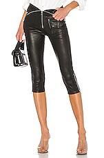 RtA Valentine Leather Pant in Nightlife 2
