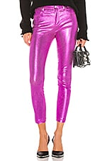 RtA Madrid Leather Pant in Magenta