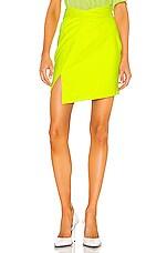 RtA Evie Skirt in Highlighter