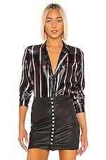 RtA Blythe Blouse in Candy Stripe