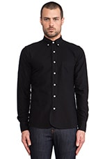 Maker Button Down in Black