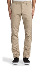 Pant in Dark Khaki