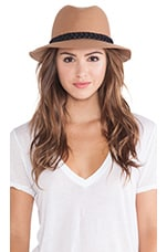Rosy Fruits Fedora en Fauve