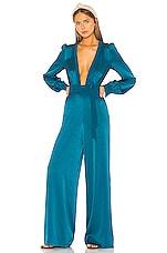 RACHEL ZOE Liona Jumpsuit in Evening Blue