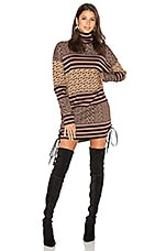RACHEL ZOE Fran Sweater Dress in Multi
