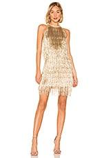 RACHEL ZOE Nova Dress in Light Gold