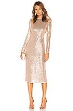 RACHEL ZOE Jeane Dress in Champagne