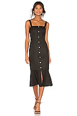 RACHEL ZOE Camille Dress in Black