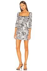 RACHEL ZOE Chiara Dress in Grey