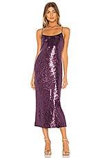 RACHEL ZOE Sistine Dress in Smokey Purple