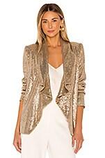 RACHEL ZOE Lena Jacket in Light Gold
