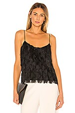 RACHEL ZOE Mika Top in Black