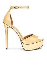RACHEL ZOE Margo Platform Sandal in Gold