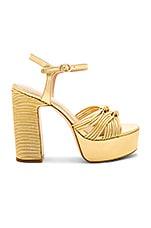 RACHEL ZOE Avery Platform in Gold