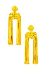 Sachin & Babi Dupio Tassel Earrings in Goldenrod