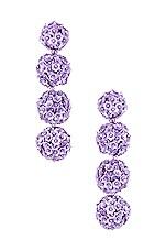Sachin & Babi X REVOLVE Fleur Bouquet Earrings in Lilac