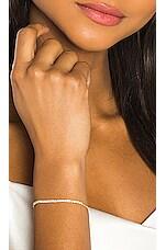 Sachi Diamond Zipper Bracelet in Gold