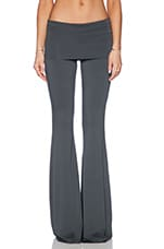 Ashby Flare Pant in Metal