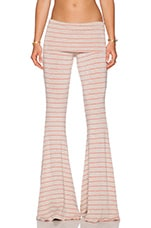Ashby Pant in Oat & Coral
