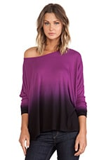 Omega Oversized Top in Marian Ombre Wash