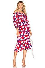 SALONI Grace Dress in Dahlia