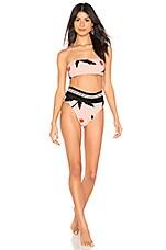 Salinas Printed Bikini Set in Pink
