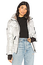 SAM. Freestyle Bomber in Silver Metallic