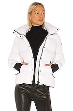 SAM. Isabel Puffer Jacket in Snow