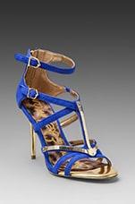 Alena Heel in Indigo Blue