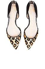 Riley Flat in Nude Leopard