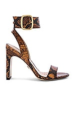 Sam Edelman Yola Sandal in Dusty Orange Snake