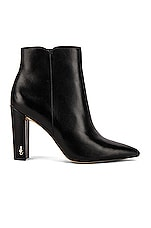 Sam Edelman Raelle Bootie in Black Leather