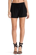 Drape Short in Black