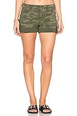Habitat Short in Safari Green Camo