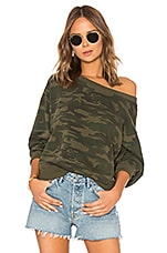 Sanctuary Nolita Sweatshirt in Mother Nature Camo