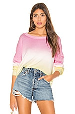 Sanctuary Sunsetter Ombre Sweater in Pink Lemonade Cooler