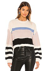 Sanctuary Playful Striped Sweater in Multi