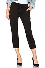 Sanctuary Pull On Trooper Pant in Black