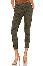 Sanctuary Palmer Cigarette Chino Pant in Mineral Camo