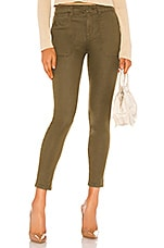 Sanctuary Palmer Cigarette Chino Pant in Greenstone