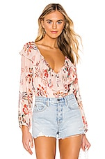 Sanctuary Lady Like Blouse in Desert Floral