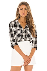 Sanctuary New Generation Boyfriend Shirt in Be Real Plaid