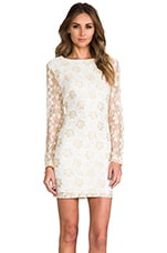Juliet Dress in Metallic Lace
