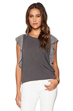 Quinn Top in Charcoal