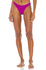 Skin by SAME Brief Bikini Bottom in Magenta