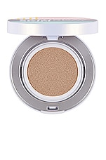 Saturday Skin All Aglow Sunscreen Perfecting Cushion Compact SPF 50 in Honey