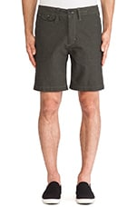 Bellows Twill Short in Olive Drab
